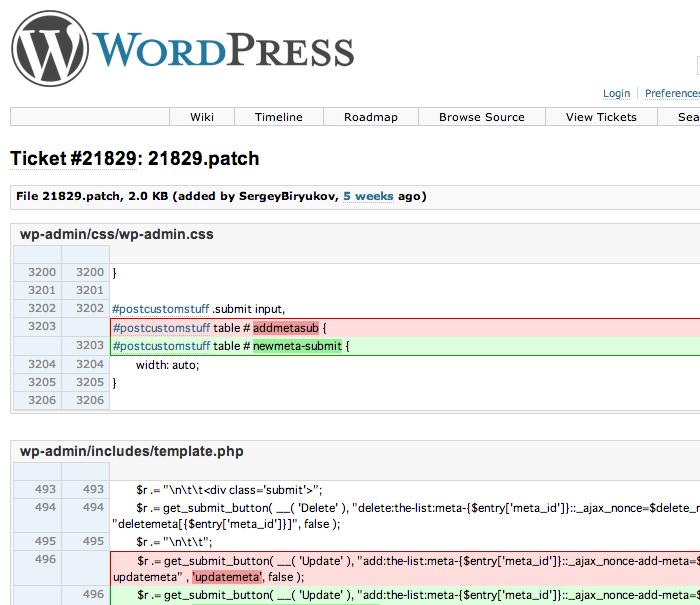 WordPress3.4.2のカスタムフィールドバグ修正プラグイン「Fix Custom Fields in WP 3.4.2」
