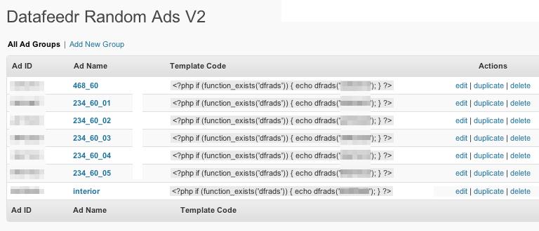 WordPressで広告をランダム表示させるプラグイン「Datafeedr Random Ads」