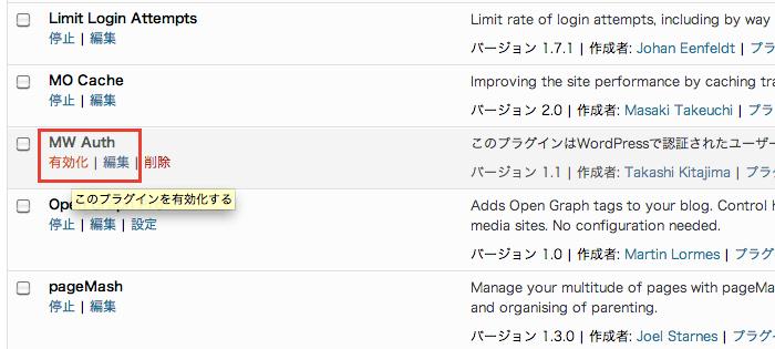プラグインを有効化するだけでWordPressユーザーのみにサイト閲覧を制限できる「MW Auth」