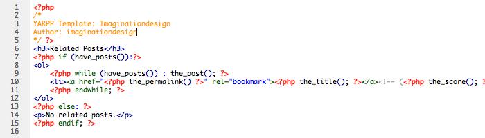 関連記事表示プラグイン「YARPP」で、オリジナルのデザインに変更する方法