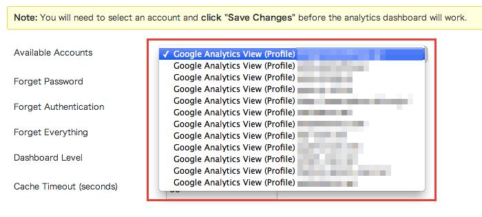 Google Analytics の解析結果を投稿記事毎に確認できるプラグイン「Google Analytics Dashboard」